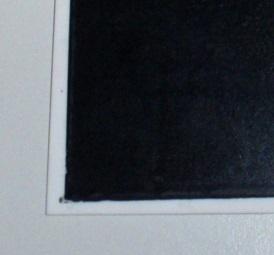 Schwarzbelag Ausschnitt